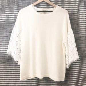 Vertical Design | Merino Wool Blend Sweater